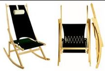 Folding Rocking Chair / Designed by Richard Ward