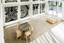 Espacios de trabajo / oficina + atelier