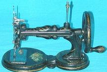 French Toy Sewing Machines