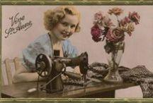 Singer Postcards