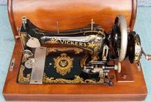 Vickers Ltd. / Sewing machines from 1914 - 1939. The Company started producing sewing machines on a small scale during World War One at Hackney Wick and later at the company's Crayford Works.