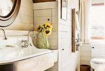 Bath / bathrooms and rooms to bathe in