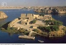 the Last Temple - Philae Island / Attention, Pinterest starts to censor....