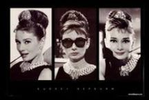 Audrey Hepburn / For beautiful eyes look for the good in others.