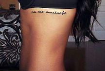 Tattoo Ideas / Ideas for what tattoo to get and where