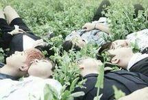 BTS『 방탄소년단 』 / . suga jin jungkook jimin j-hope rap monster v .