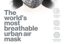 O2TODAY Air Pollution Mask | Marcel Wanders / The world's most breathable urban air pollution mask uses scientific technical innovation and extensive consumer research to protect us from the pollutants found in our city air. With industry-leading design and biologically advanced filtration, the O2TODAY™ mask (2016) makes breathing comfortable and stylish.