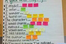 anchor charts / Anchor charts, mainly Literacy. / by Sebrina Burke