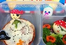 El lunch de mi Enano! / Ricos, saludables y divertidos lunchs y comidas que hago para mi enano!