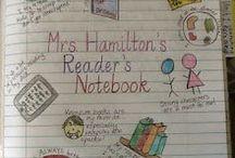 Reading Notebooks / Reading response journals / by Sebrina Burke