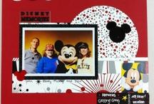 Disney Scrapbook Page Ideas / by Natalie Keating- McIntyre