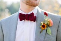 *Lacy + Kyle {wedding}* / A modern woodsy fall wedding in a natural setting.