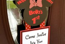 BELLA BEAN'S FIRST BIRTHDAY PARTY IDEAS / Party / by Ashley Tomcho-Derringer