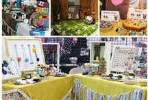 Crafty Display / Ideas for Displaying Craft Show Merchandise