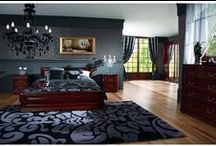 Mobila dormitor /  Mobilier Mobila dormitor lemn masiv clasic sau modern