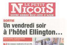 L'Hôtel Ellington****, Nice dans la Presse / Retrouvez le dossier de presse ainsi que les articles sur l'Hôtel Ellington****, Nice et son Duke Bar & Lounge : http://www.ellington-nice.com/media/   Contact presse : Mickaël Mugnaini - sales@ellington-nice.com - 04 92 47 79 79