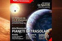 Le copertine di Coelum Astronomia / Tutte le nostre copertine, con il link al sommario del numero e la descrizione dell'immagine di copertina scelta di mese in mese.