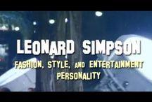 CELEBRITY LEONARD SIMPSON / My celebrity lifestyle career
