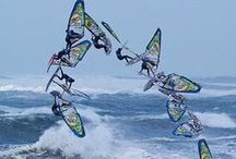 Wind and water sports / About windsurfing, kite surfing, dinghy sailing, all kinds of miniature versions of sailboats, sail races and stars, beauty of archipelago, marine related ideas