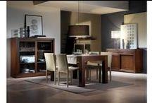Mobila sufragerie / Mobila si mobilier sufragerie din lemn masiv si furnir