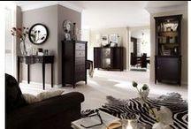 Mobila living  / Mobila si mobilier living din lemn masiv si furnir