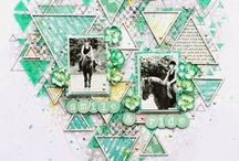 Old Layouts - Terhi Koskinen / My scrapbook layouts made before 2015. http://tellimaria.blogspot.fi/