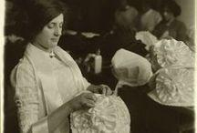 Inspiratie 1900/ hoedenmaakster