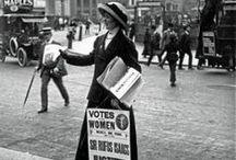 Inspiratie 1910 / Suffragette