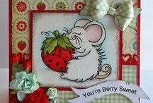 High Hopes Stamp Mice / High Hopes Rubber Stamp Mice