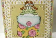 High Hopes Rubber Stamps Animals / High Hopes Stamps rubber stamps and hanrmade cards using Critters and Animals