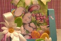 High Hopes Stamps Spring / High Hopes Rubber Stamps of Spring Inspirations Cards & Paper Crafts