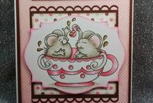 High Hopes Stamps Everday / High Hopes Stamps everyday handcrafted cards and paper projects using High Hopes rubber stamps