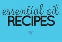 Essential Oil Recipes / UsingEOsSafely.com/recipes