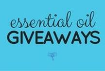 Giveaways & Special Offers for Essential Oils / Time-sensitive giveaways and special offers related to essential oils.