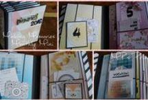 Scrapbook Mini Album Projects