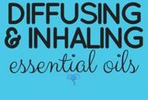 Diffusing & Inhaling Essential Oils / Although skin issues are most effectively dealt with topical use, some health issues are best addressed by inhalation use. Insomnia, respiratory congestion, and emotional health are examples of when inhalation is ideal.  Read more ---> UsingEOsSafely.com/inhaling