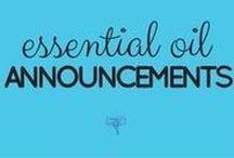 Public Service Announcements about Essential Oils / a spot to put general information