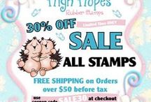High Hopes Stamps Sales / High Hopes Rubber Stamps Sales, Deals and Promotional Offers