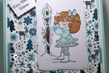 High Hopes Stamps Winter / High Hopes Stamps handcrafted cards with a winter theme
