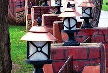 Duvar Üstü Aydınlatma / Bahçe duvar üstü aydınlatma apliği