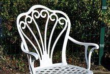 Döküm Sandalyeler / Dekoratif döküm uzun ömürlü dış ortama dayanıklı sandalye modellerimiz.