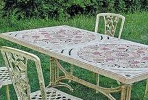Döküm Masalar / Dış ortama dayanıklı dekoratif döküm masa modellerimiz.