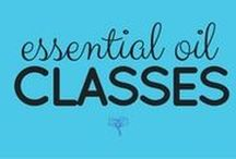 Essential Oil Classes / Find FREE classes taught by a certified clinical aromatherapist here ---> freeEOclass.com