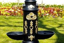 Döküm Bahçe Çeşmesi / Dekoratif alüminyum döküm bahçe çeşme modellerimiz.