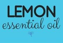 Lemon Essential Oil / Take the free class and get all the info here ---> UsingEOsSafely.com/sandalwoodEO
