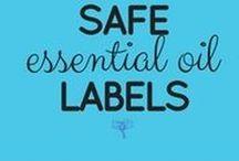 Safe Essential Oil Labels / safeEOlabels.com