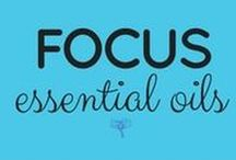 Focus Essential Oils / Take the free class and get all the info here, as well as FAMILY SAFE BLENDS ---> UsingEOsSafely.com/focusEOs