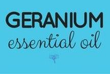 Geranium Essential Oil / Take the free class and get all the info here ---> UsingEOsSafely.com/geraniumEO
