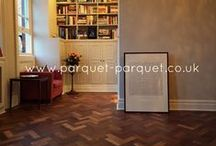 Floors With Impact / Reclaimed parquet floors and how they can make an impact