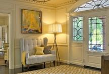 Entry Foyer & Stairs - French Country & Traditional / by French Country Renovation